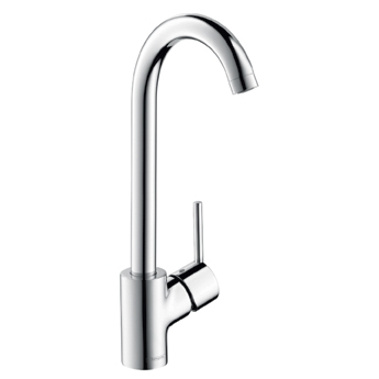 Hansgrohe 04287800 Talis S 2 Bar Faucet - Steel Optik (Pictured in Chrome)