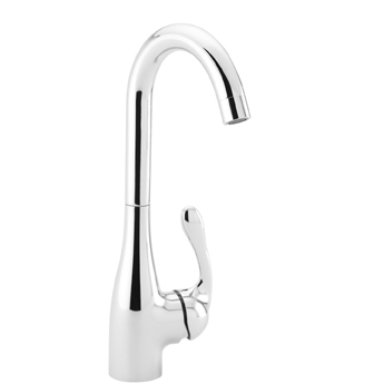 Hansgrohe 14801801 Allegro E Bar Faucet - Steel Optik (Pictured in Chrome)