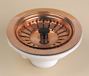 Herbeau 4511-59 Kitchen Couture Basket Strainer - Weathered Copper (Pictured in Polished Copper)