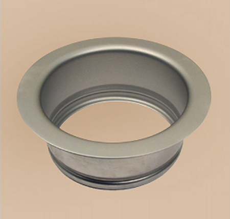 Herbeau 451349 Garbage Disposal Flange - SoliBrass (Pictured in Satin Nickel)