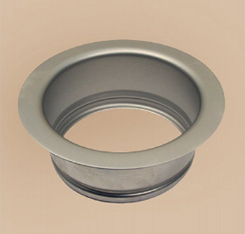 Herbeau 451355 Garbage Disposal Flange - Polished Brass (Pictured in Satin Nickel)