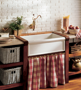 herbeau 460330 kitchen couture fireclay farmhouse sink french ivory pictured in white. Interior Design Ideas. Home Design Ideas