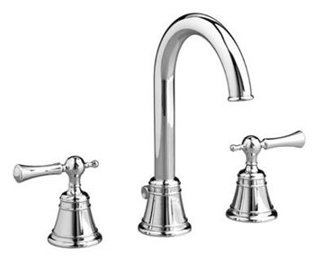 Jado 842/813/100 Hatteras High Spout Widespread Lavatory Set Lever Handle - Chrome