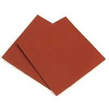 Kirkhill P15R 5-7/8 inch  x 5-7/8 inch  Red Rubber Sheet