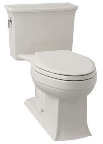Kohler K-3639-96 Archer Class Five (R) Elongated One-Piece Toilet - Biscuit