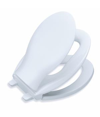 Kohler K-4732-0 Transitions(R) Quiet-Close Toilet Seat - White