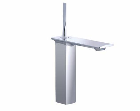 Kohler K-14761-4-CP Stance Single-Control Tall Lavatory Faucet - Polished Chrome