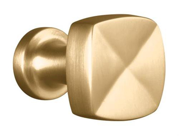 Kohler K-16262-BV Knob Cabinet Hardware - Brushed Chrome