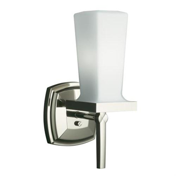 Kohler K-16268-SN Margaux Single Wall Sconce - Polished Nickel