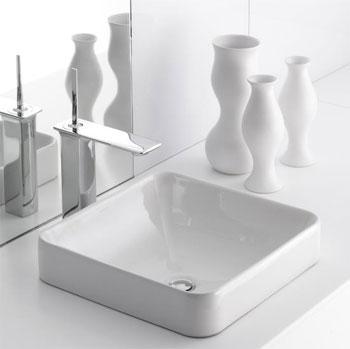 Kohler K 2661 0 Vox Square Vessel White Faucetdepot Com