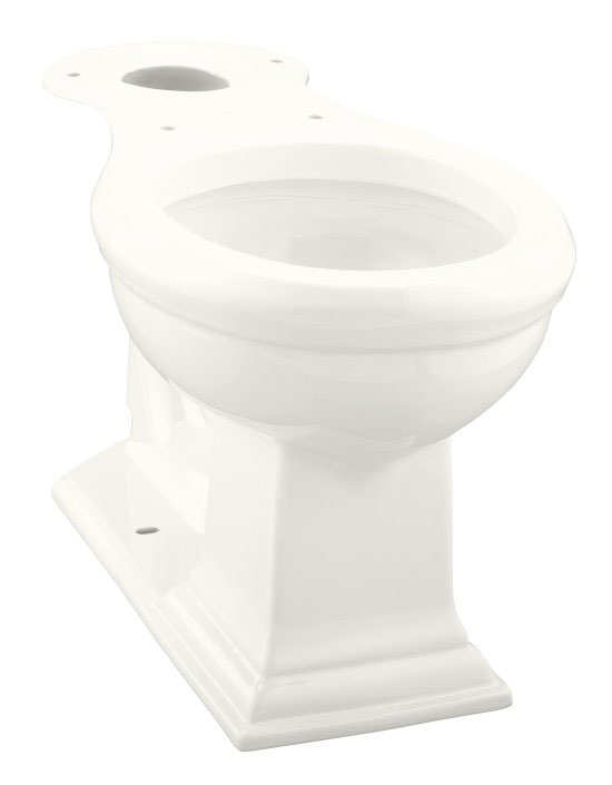 Kohler K-4289-0 Memoirs Comfort Height Round-Front Toilet Bowl - White