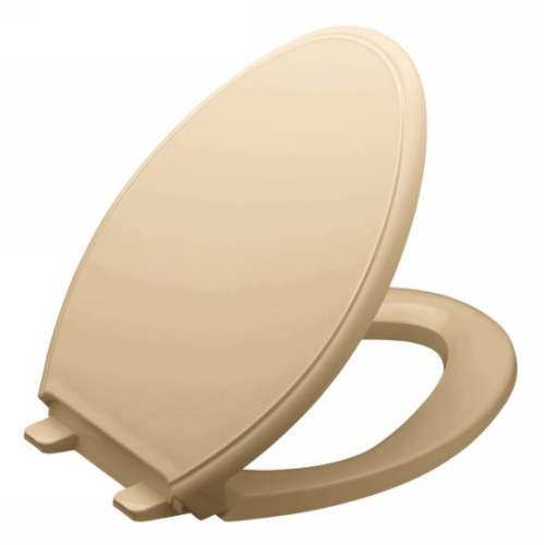 Kohler K-4733-33 Glenbury Quiet Close Elongated Toilet Seat - Mexican Sand