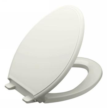 Kohler K 4733 95 Glenbury Quiet Close Elongated Toilet Seat Ice Grey Fauc