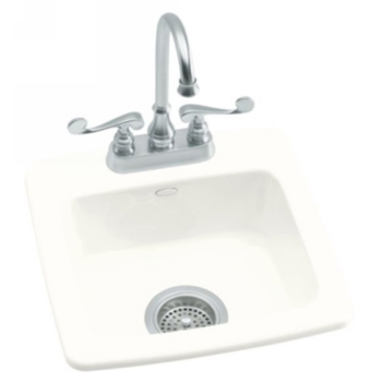 Kohler K-6015-2-0 Gimlet Self-Rimming Entertainment Sink With 2 Hole 4