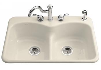 kohler k 6626 2 47 langlade smart divide kitchen sink