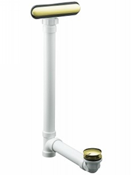 Kohler K-7272-AF Clearflo Slotted Overflow Bath Drain - French Gold