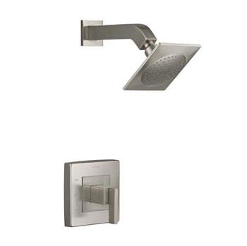Kohler K-T14670-4-BN Loure Rite-Temp Shower Trim - Brushed Nickel