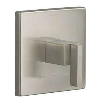 Kohler K-T14672-4-BN Loure Thermostatic Valve Trim - Brushed Nickel