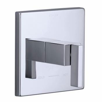 Kohler K-T14672-4-CP Loure Thermostatic Valve Trim - Chrome