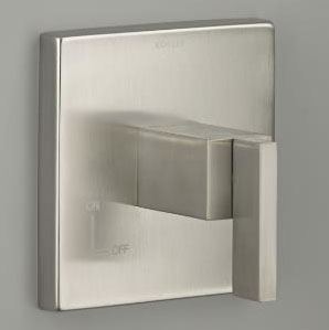 Kohler K-T14674-4-BN Loure Volume Control Trim - Brushed Nickel