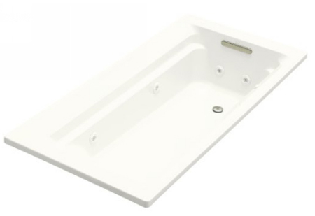 Kohler K 1124 H 0 Archer 6 Whirlpool With In Line Heater