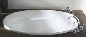 Kohler K-1183-0 Serif 5' Bath - White