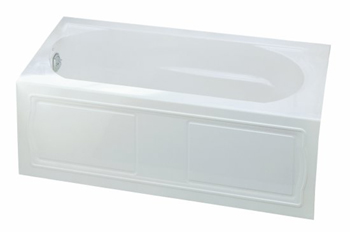 Kohler K-1184-RA-7 Devonshire 5' Bath With Integral Apron and Right Hand Drain - Black (Pictured in White)