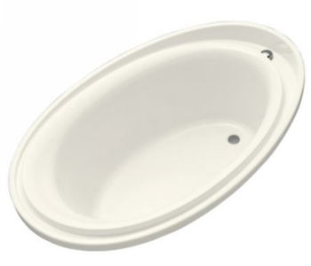 Kohler K-1190-96 Purist 6 Foot Experience Bath - Biscuit