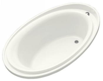Kohler K-1190-0 Purist 6 Foot Experience Bath - White
