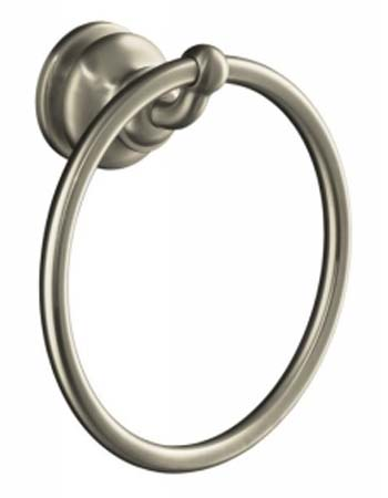 Kohler K-12165-BN Fairfax Towel Ring - Brushed Nickel