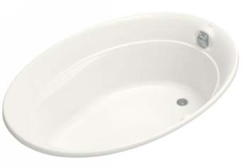 Kohler K-1337-G-0 Serif 5' BubbleMassage Bath - White