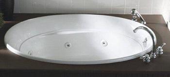 Kohler K-1337-0 Serif Whirlpool - White