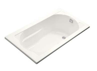 Kohler K-1357-G-0 Devonshire BubbleMassage Bath - White