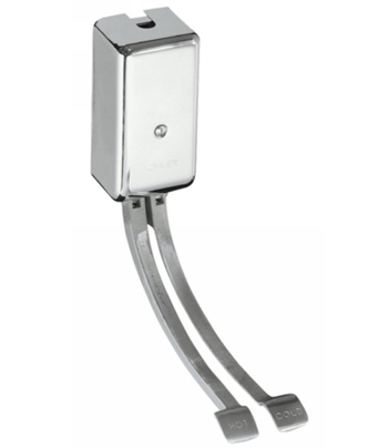 Kohler K-13816-CP Double Foot Control - Polished Chrome