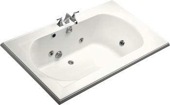 Kohler K-1418-H2-0 Memoirs 6' Whirlpool - White
