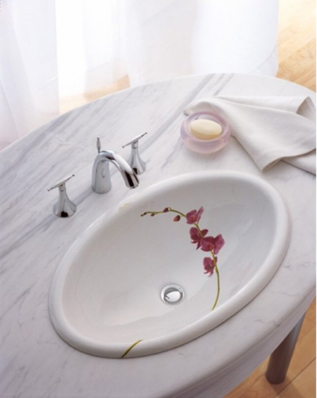 Kohler K-14272-LY-0 Soliloquy Self-Rimming Lavatory - White (Faucet and Accessories Not Included)