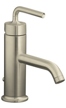 Kohler K-14402-4A-BN Purist One Handle Lavatory Faucet - Brushed Nickel