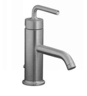 Kohler K-14402-4A-G Purist One Handle Lavatory Faucet - Brushed Chrome