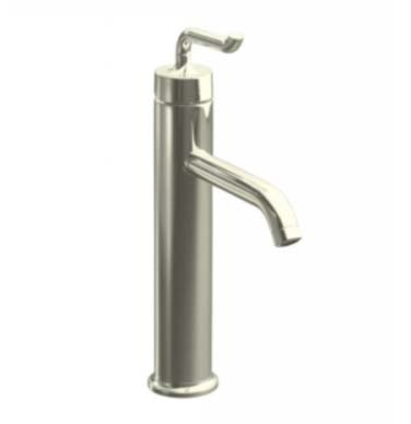 Kohler K-14404-4-SN Purist One Handle Tall Lavatory Faucet - Polished Nickel