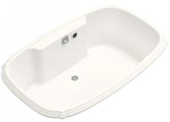 Kohler K-1457-G-0 Portrait 5.5' BubbleMassage Bath - White
