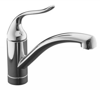 Kohler K-15075-P-CP Coralais Single Handle Kitchen Faucet - Polished Chrome