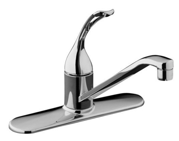 Kohler K-15171-TL-CP Coralais Single Handle Kitchen Faucet - Polished Chrome