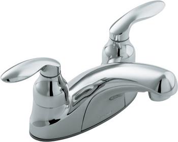 Kohler K-15240-4-CP Centerset Lavatory Faucet - Polished Chrome