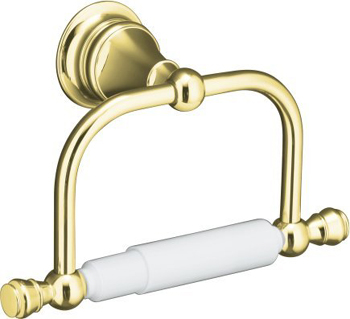 Kohler K-16141-PB Revival Toilet Tissue Holder - Polished Brass
