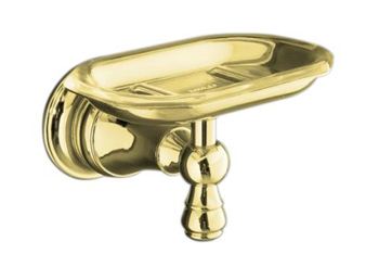 Kohler K-16142-PB Revival Soap Dish - Polished Brass