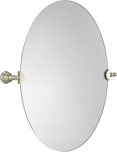 Kohler K-16145-BN Oval Wall Mirror - Brushed Nickel