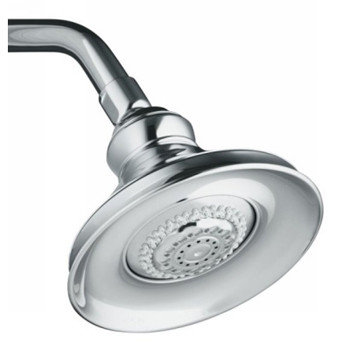 Kohler K-16167-CP Revival Multi-Function Showerhead - Polished Chrome (Showerarm and Flange Not Included)