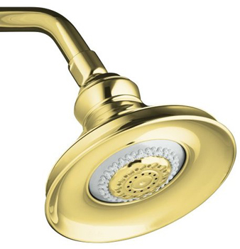 Kohler K 16167 PB Revival Multi Function Showerhead   Polished Brass