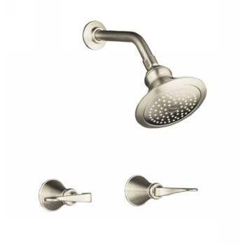 Kohler K-16214-4-BN Revival Two Handle Shower Only Faucet - Brushed Nickel