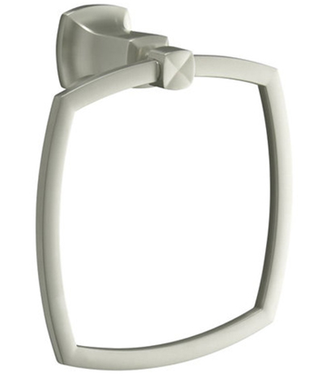 Kohler K-16254-BN Margaux Towel Ring - Brushed Nickel